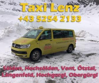 Taxi Lenz - Sölden