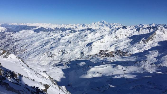 Skigebied Les 3 Vallées