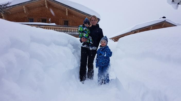 Met je gezin op wintersport