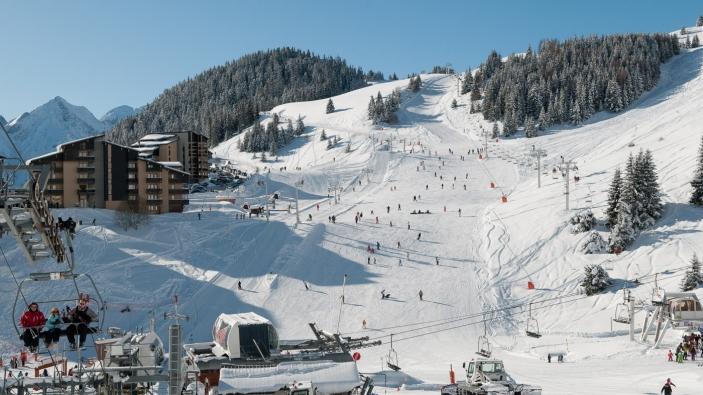 Kies brede pistes uit op je eerste wintersportvakantie