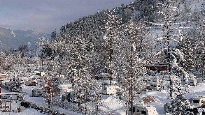 Wintercamping - Camping Park Grubhof