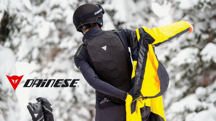 7bf407c2f Dainese Flexagon Backprotector & Flexagon Waistcoat | Wintersport Live