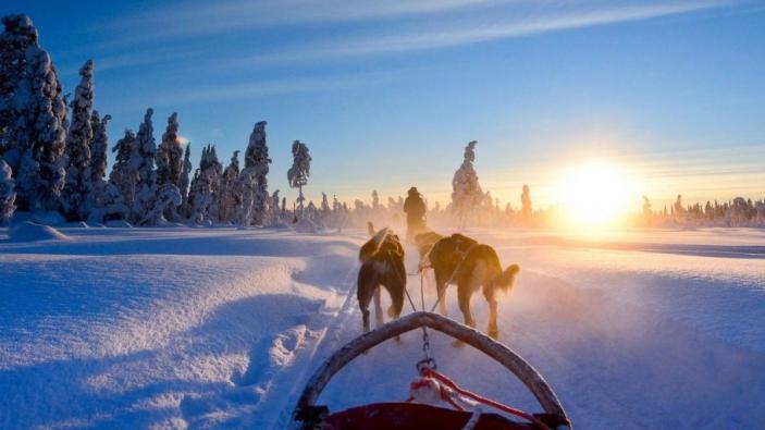 Een reis voor 2 personen naar Magisch Lapland