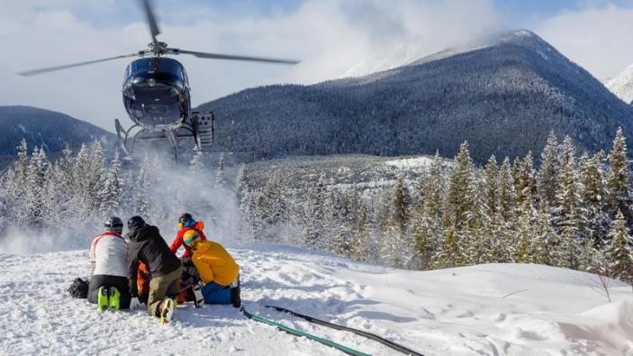 Helikopter skiën