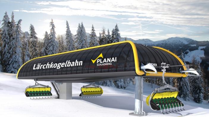 Lärchkogelbahn in Schladming