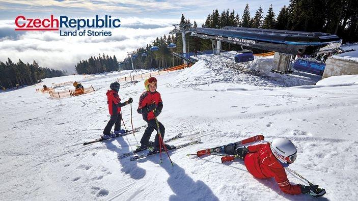 Moosite skigebieden van het Reuzengebergte