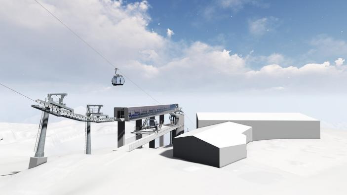 Nieuwe Rotkogelbahn in Sölden