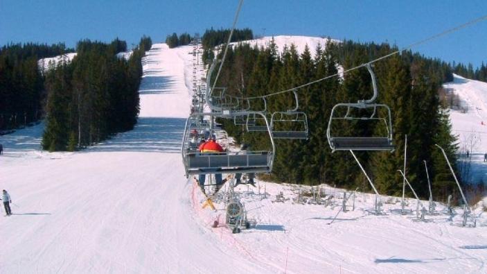 Skigebied Säfsen in Zweden