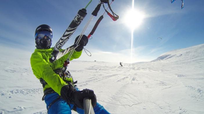 Snowkitetrip naar Noorwegen met Versus
