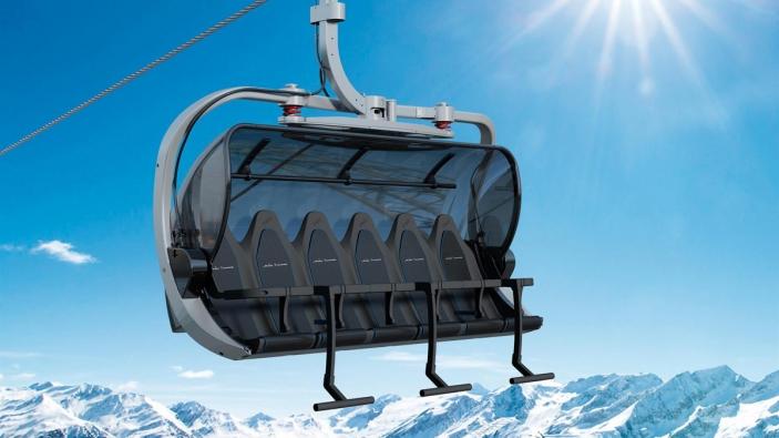 Nieuwe Brüggerhorn lift Arosa