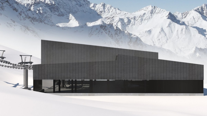 Nieuwe Weißseejochbahn voor de Kaunertal Gletsjer