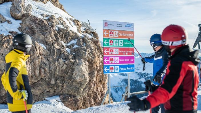 Wintersport Dolomieten