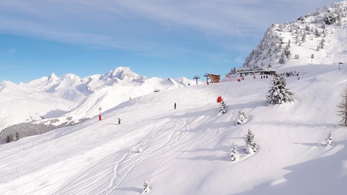 Corona en wintersport in de Franse bergen