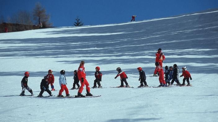 Wintersport met jonge kinderen