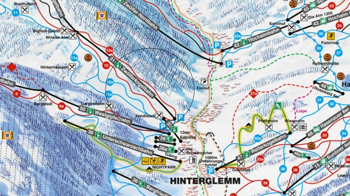 Nieuwe 12er KOGEL in Hinterglemm