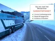 Busreis naar de wintersport