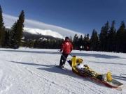 Hulpverlening na een ski-ongeluk