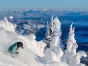 Wintersport in Canada - Sun Peaks geweldig uitzicht