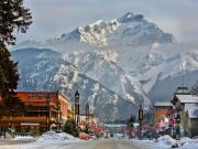 Wintersport Banff - Canada