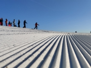 Skihelm tijdens de wintersport