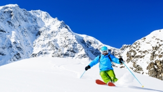Tiefschnee skiën