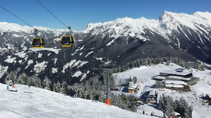 Kombibahn Mayrhofen, Zillertal