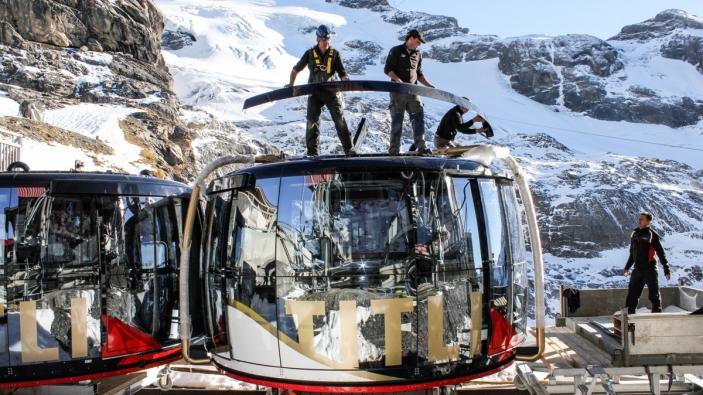 Vernieuwingen Centraal-Zwitserland. Titlis