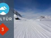 De aanduiding van een Oostenrijkse skiroute