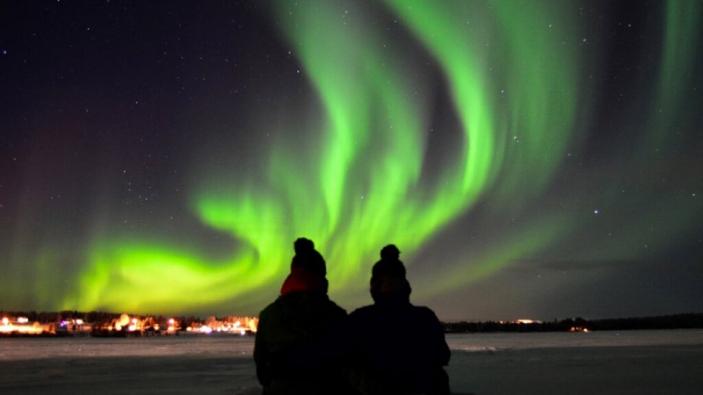 Sprookjeswereld in winters Lapland - Noorderlicht
