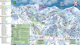 Pistekaart Alta ski area