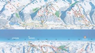 Pistekaart Davos-Klosters