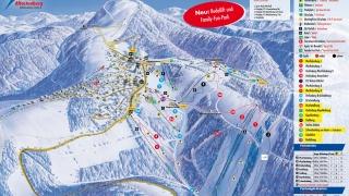 Pistekaart Skikarussell Altastenberg