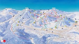 Pistekaart Skiliftkarussell Winterberg