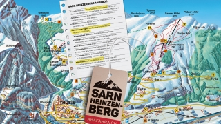 Pistekaart Sarn-Heinzenberg