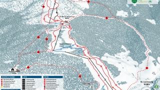 Pistekaart Ski Grebenzen