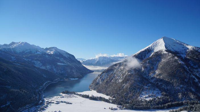 Wintersport skigebied Achensee