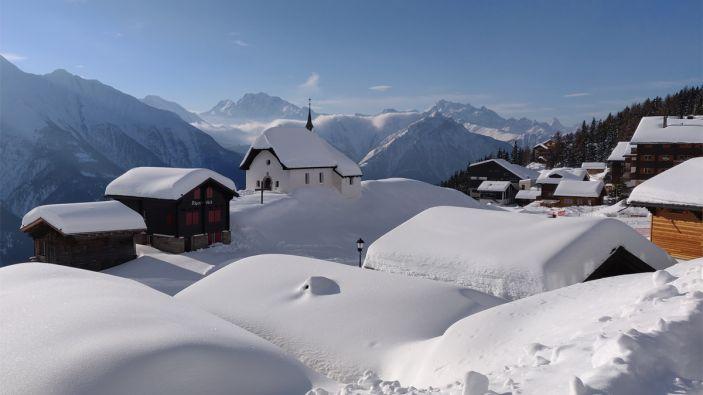 Wintersport Bettmeralp