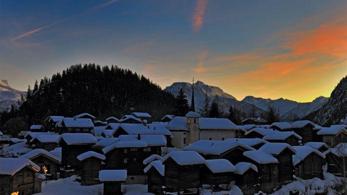 Wintersport Blatten
