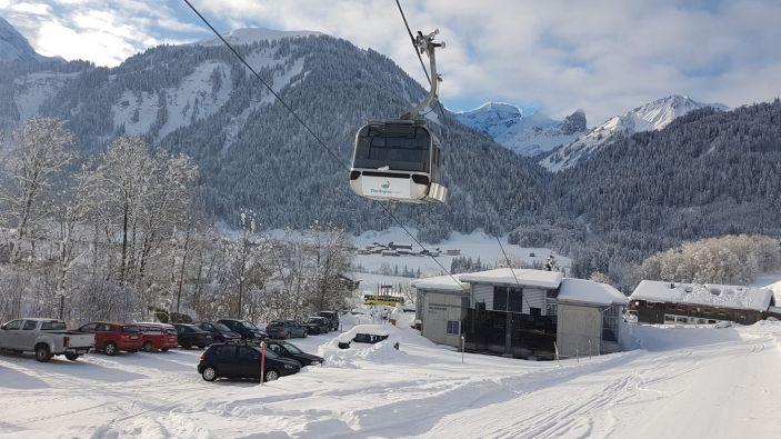 Wintersport skigebied Diedamskopf - Schoppernau