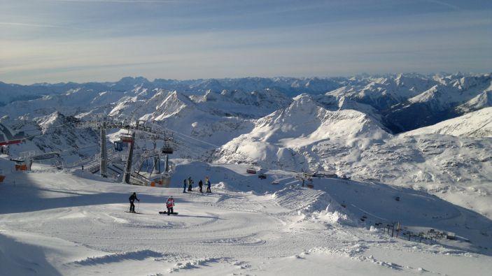 Wintersport skigebied Mölltaler Gletscher