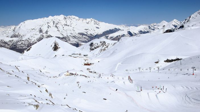 Wintersport skigebied Les 2 Alpes