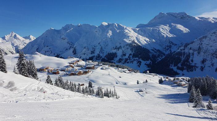 Wintersport skigebied Ski Arlberg - Lech-Oberlech