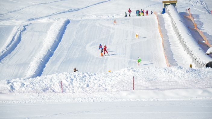 Wintersport in Postalm Arena