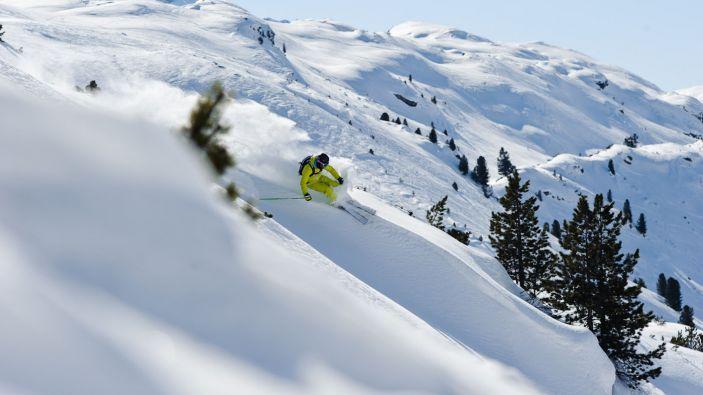 Wintersport skigebied Silvapark Galtür