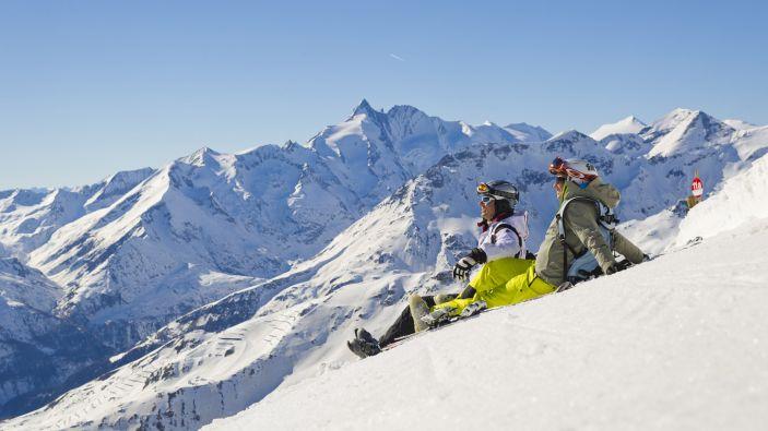 Wintersport skigebied Grossglockner Heiligenblut