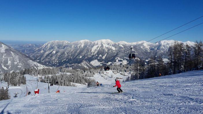 Wintersport skigebied Hinterstoder–Höss
