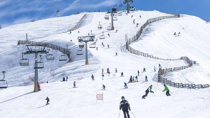 Wintersport skigebied Limone Piemonte