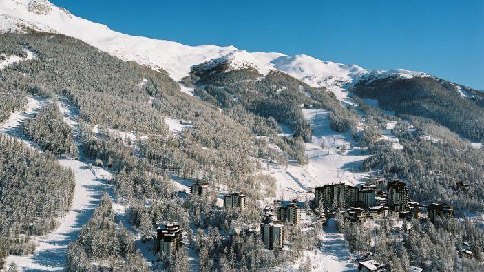 Skigebied Orres - Centre Station