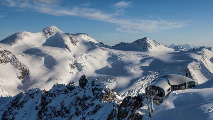 Skigebied Pitztaler Gletscher - Wildspitzbahn