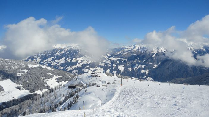 Wintersport skigebied Ski Zillertal 3000